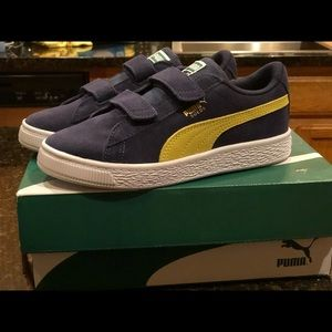 Little Boys 2-Strap Pumas